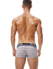 Stripe Low Rise Boxer Brief 90212