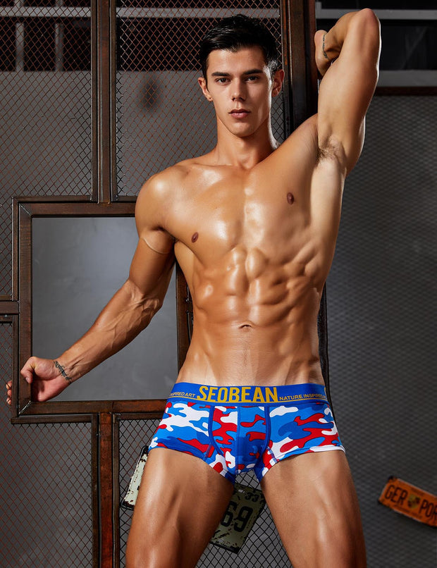 Camouflage Low Rise Boxer Brief 90218