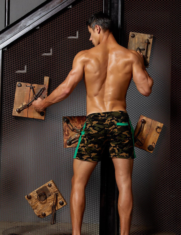 Sports Training Camouflage Shorts 9502