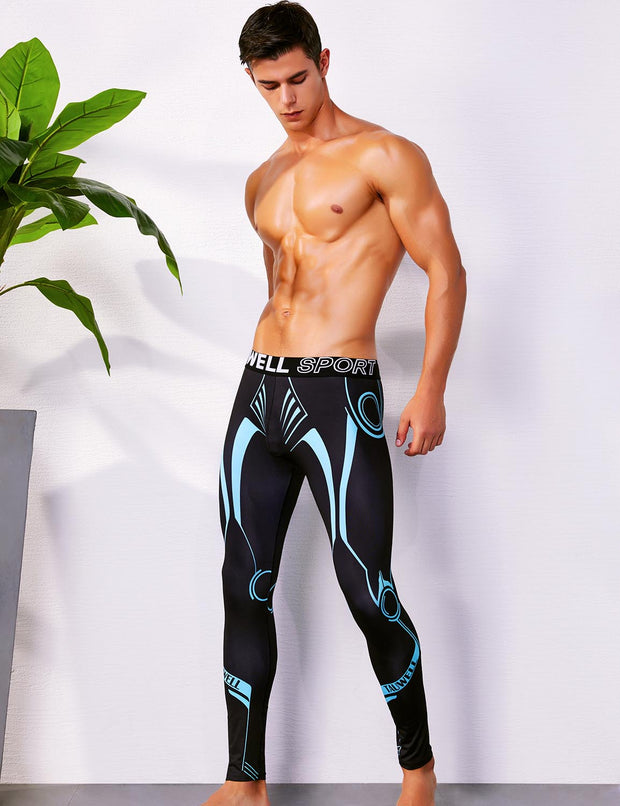 Sports Compression Tights Leggings 9602