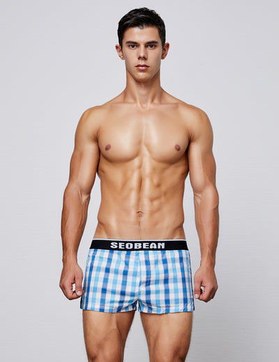 Low Rise Plaid Trunk Shorts 90502