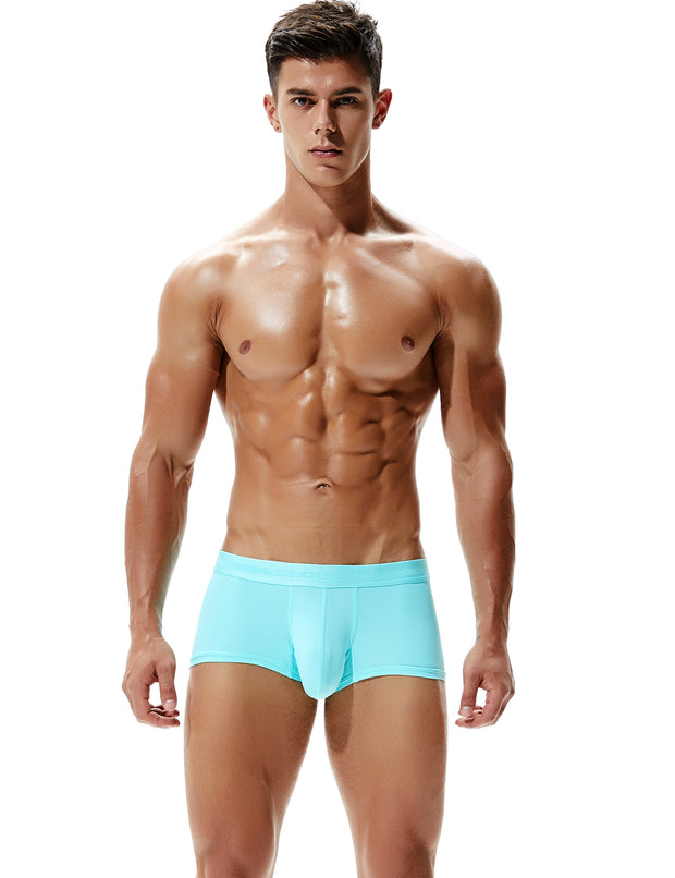 Nylon Low Rise Elastic Boxer Brief 80217
