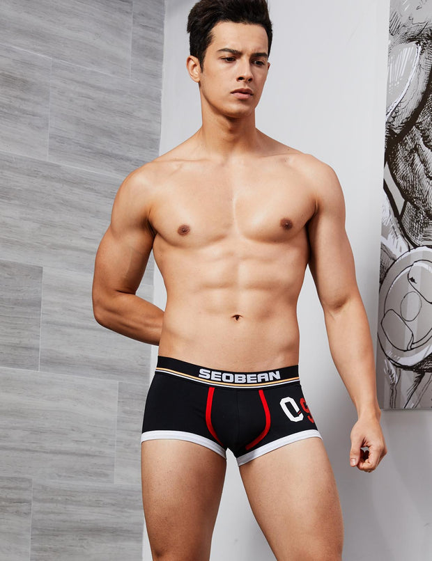 "Low Rise Boxer Brief ""09"" Badge 90221"