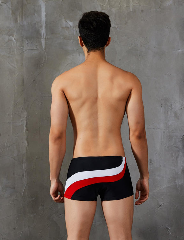 Boxer Brief Swim Trunks Swimwear 9401