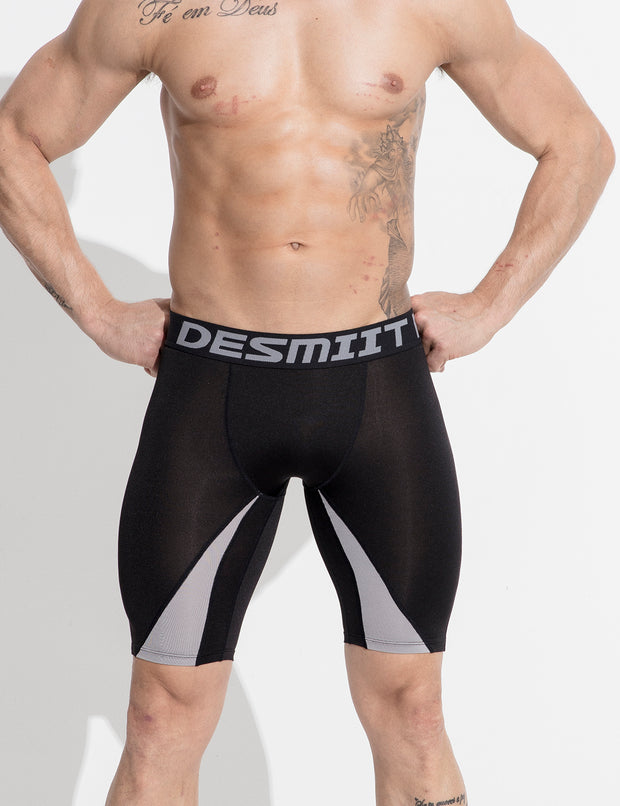 Compressive-Fit Training Tights Quick Dry Shorts G508