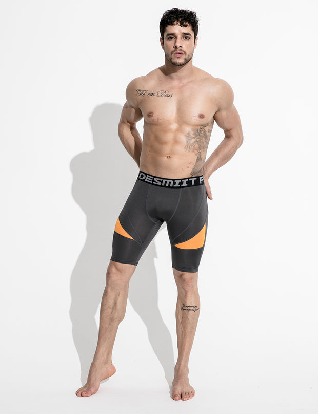 Compressive-Fit Training Tights Quick Dry Shorts G509