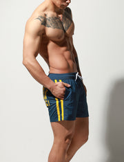 Quick-Dry Side Stripes Shorts S6022