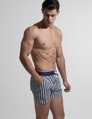 Sports Quick-Dry Swim Beach Surf Stripe Shorts S612
