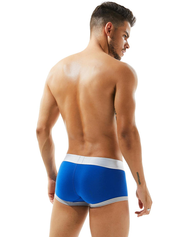Low Rise Solid 7 Colors Boxer Brief 80202