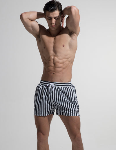 Sports Quick-Dry Swim Beach Surf Stripe Shorts S613