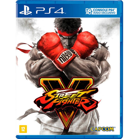 STREET FIGHTER V - SEMINOVO - PS4