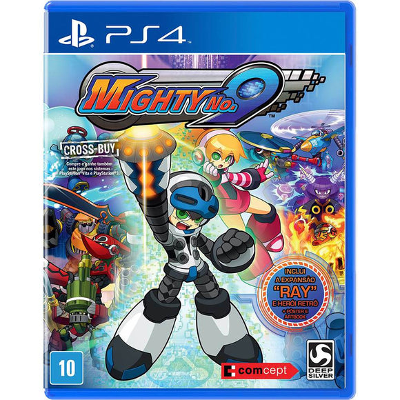 MIGHTY No. 9 - SEMINOVO - PS4