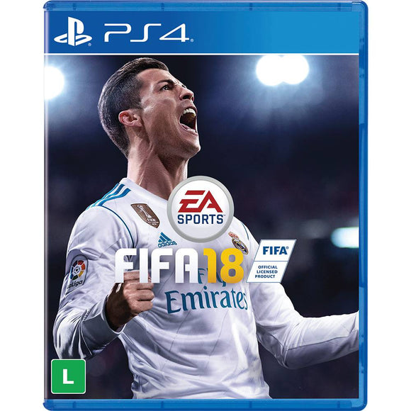 FIFA 18 - SEMINOVO - PS4