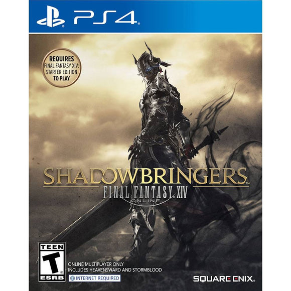 SHADOW BRINGERS FINAL FANTASY XIV-NOVO - PS4
