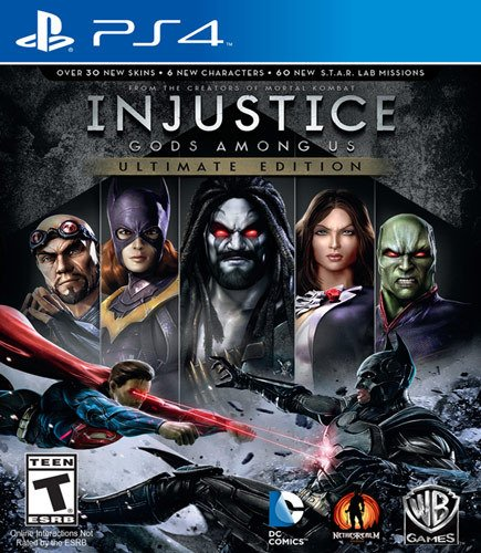 INJUSTICE: GOD AMONG US ULTIMATE EDITION - NOVO - PS4