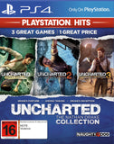 UNCHARTED THE NATHAN DRAKE COLLECTION 3 em 1 - NOVO - PS4