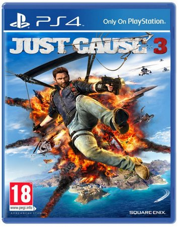 JUST CAUSE 3: GOLD EDITION - NOVO - PS4