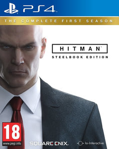 HITMAN STEELBOOK - SEMINOVO - PS4