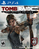TOMB RAIDER: DEFINITIVE EDITION - NOVO - PS4