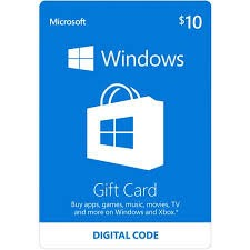 WINDOWS GIFT CARD - Envio por Email/WhatsApp