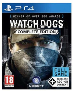 WATCH DOGS COMPLETE EDITION - SEMINOVO - PS4