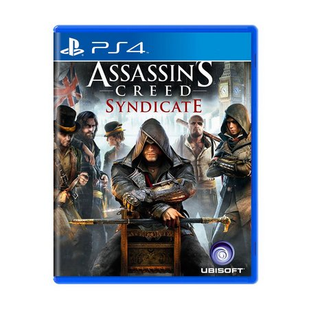 ASSASSIN´S CREED SYNDICATE - NOVO - PS4