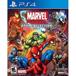 MARVEL PINBAL EPIC COLLECTION VOL. 1 - SEMINOVO - PS4