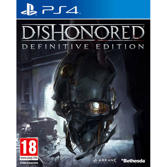 DISHONORED: DEFINITIVE EDITION - SEMINOVO - PS4