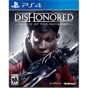 DISHONORED: DEATH OF THE OUTSIDER - NOVO - PS4