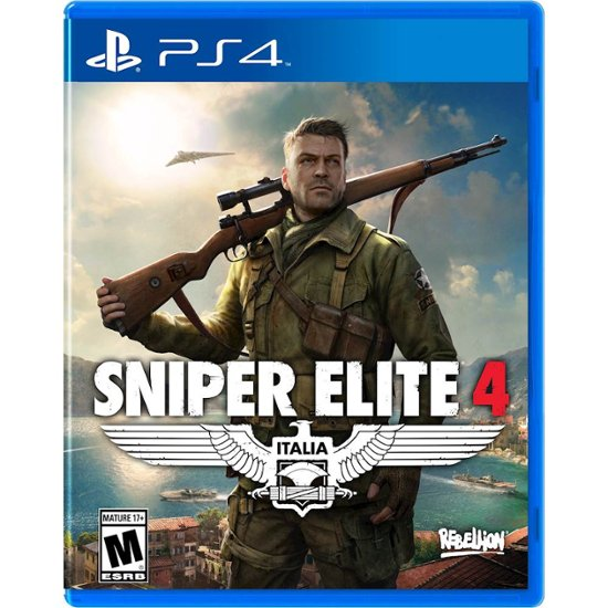 SNIPER ELITE 4 - SEMINOVO - PS4