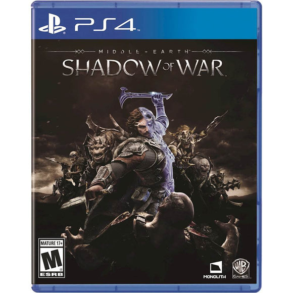 SHADOW  MORDOR MIDLLE EARTH - NOVO - PS4 - ENCOMENDA