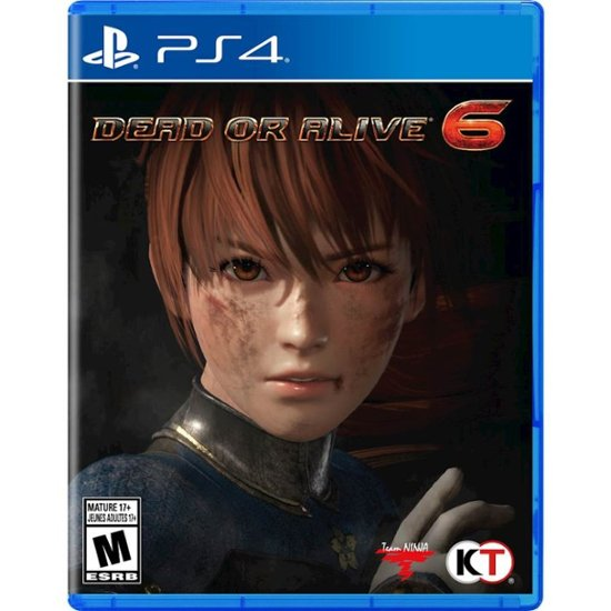 DEAD OR ALIVE 6 - NOVO - PS4