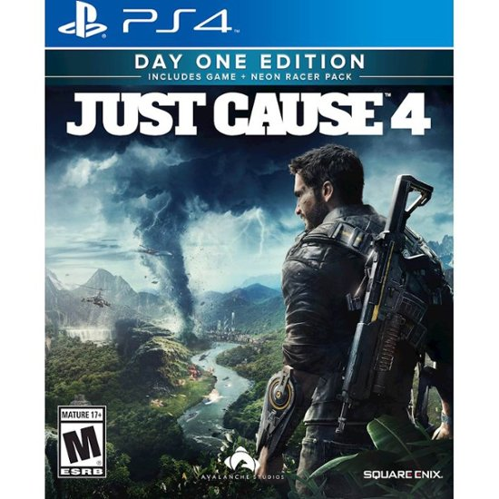 JUST CAUSE 4: DAY 1 EDITION - NOVO - PS4