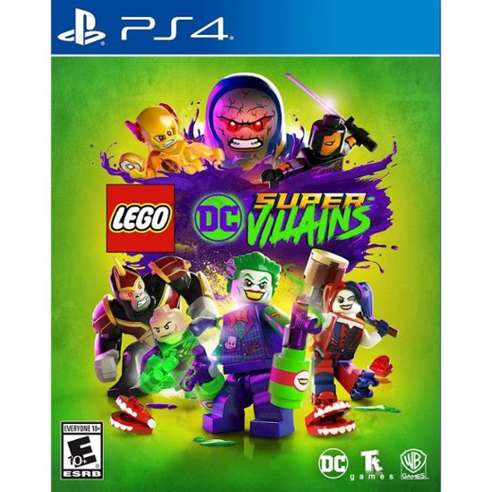 LOGO SUPER VILLAINS - NOVO - PS4