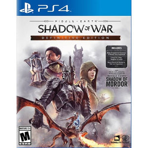SHADOW OF  WAR MIDLLE EARTH - NOVO - PS4