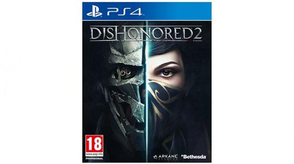 DISHONORED 2 - NOVO - PS4