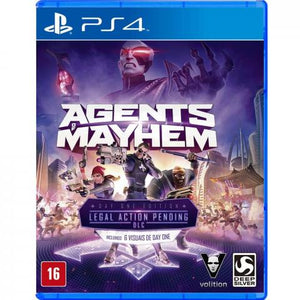 AGENTS OF MAYHEM LEGAL ACTION PENDING - NOVO - PS4
