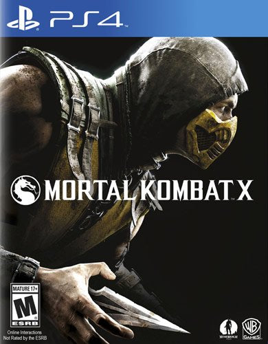 MORTAL KOMBAT X - SEMINOVO - PS4