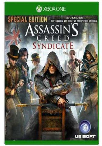 ASSASSIN´S CREED SYNDYCATE - SEMINOVO - XBOX ONE