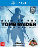 RISE OF THE TOMB RAIDER - NOVO - PS4