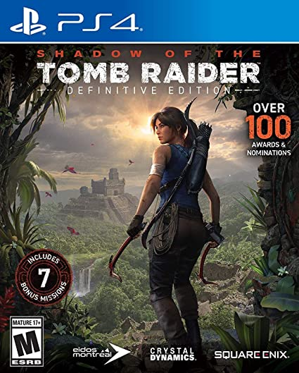 SHADOW OF THE TOMB RAIDER Definite Edition - NOVO - PS4 - ENCOMENDA