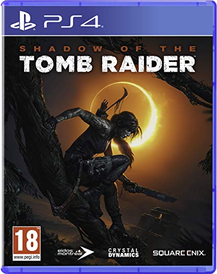 SHADOW OF THE TOMB RAIDER - NOVO - PS4