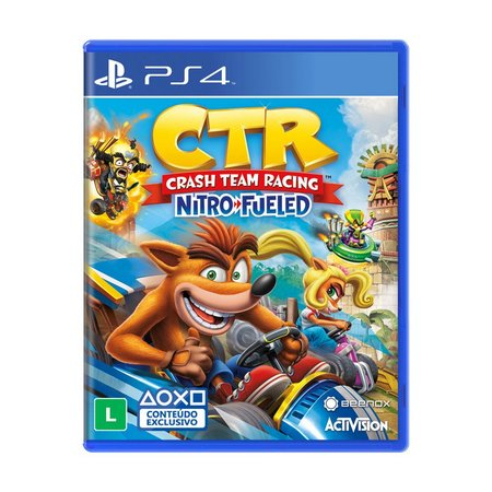 CRASH TEAM RACING NITRO FUELED - NOVO - PS4