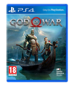 GOD OF WAR - SEMINOVO - PS4
