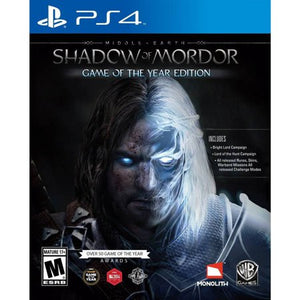 SHADOW OF MORDOR - SEMINOVO - PS4