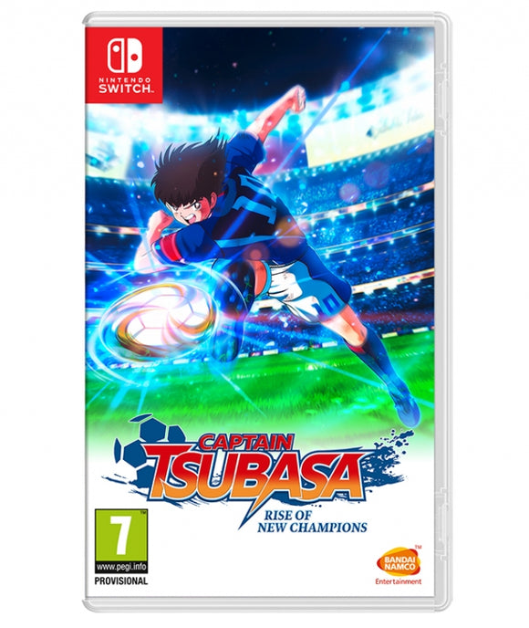 CAPTAIN TSUBASA RISE OF NEW CHAMPIONS (OFERTA DLC E PINS) - NOVO - NINTENDO SWITCH - ENCOMENDA -