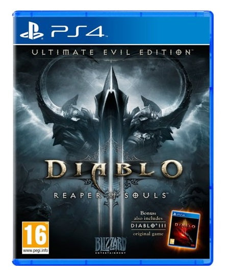 DIABLO 3 REAPER OF SOULS ULTIMATE EVIL EDITION - NOVO - PS4