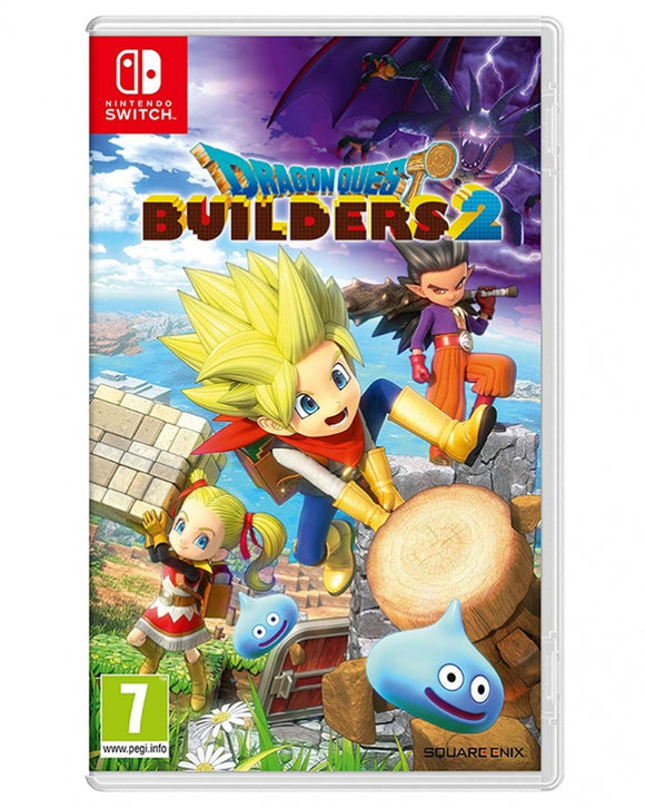 DRAGON QUEST BUILDERS 2  - NOVO - NINTENDO SWITCH - ENCOMENDA -