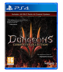 DUNGEONS 3 COMPLETE COLLECTION - NOVO - PS4 - ENCOMENDA -