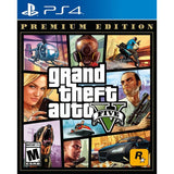 Grand Theft Auto V Premium Edition - GTA 5 - NOVO - PS4